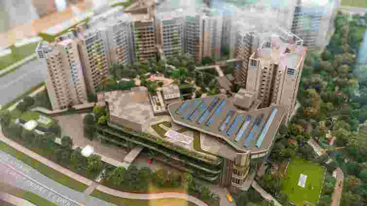 Сінгапур збудує нове екологічне місто з підземною залізницею і фермами