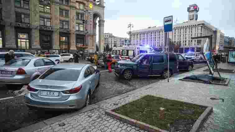 Винуватцю смертельної ДТП на Майдані Незалежності повідомили про підозру