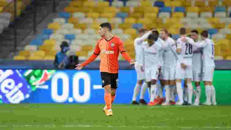 Донецький «Шахтар» розгромно програв «Боруссії»