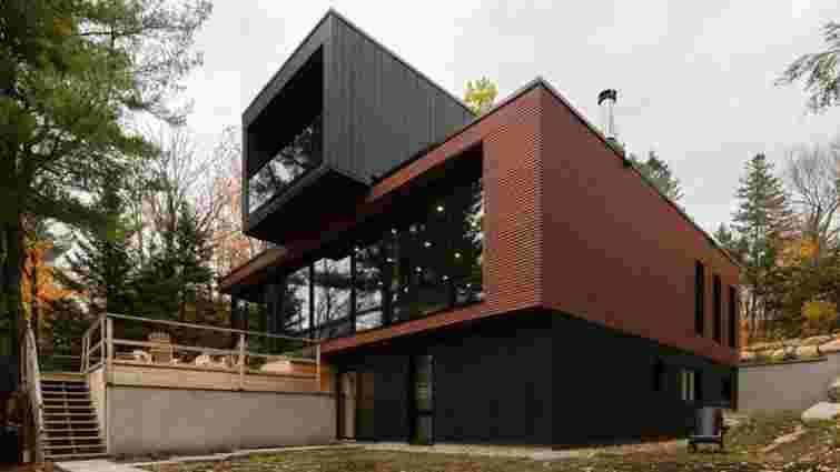 Лего для дорослих: у Канаді збудували заміський будинок з п'яти модулів