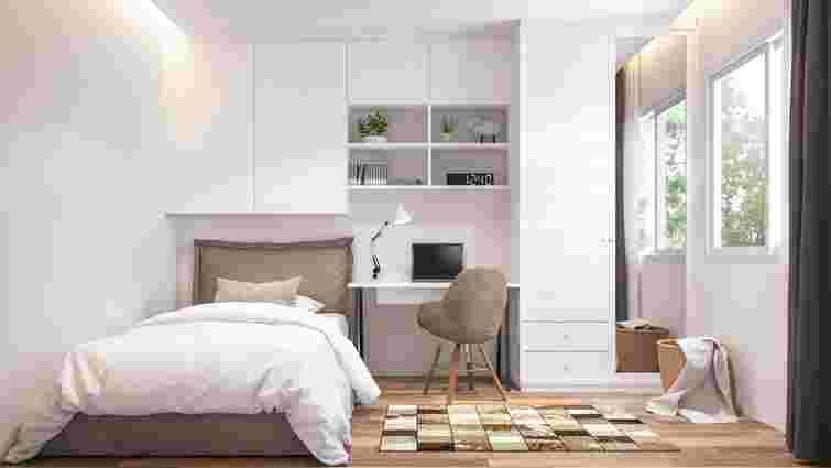 Нічого зайвого: 8 ідей для візуального збільшення маленької спальні