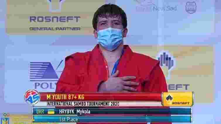 17-річний львів'янин став чемпіоном світу з самбо