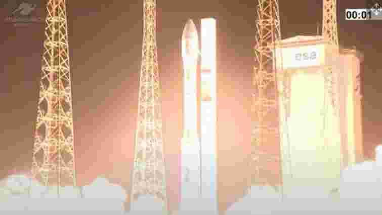 Ракета-носій Vega із українським двигуном зазнала аварії при запуску