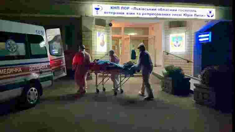 У госпіталі у Винниках стався вибух кисню, частину пацієнтів вивезли