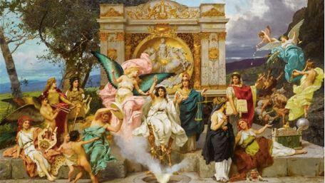 На аукціоні Sotheby`s продають авторську копію театральної завіси «Парнас» Львівської Опери