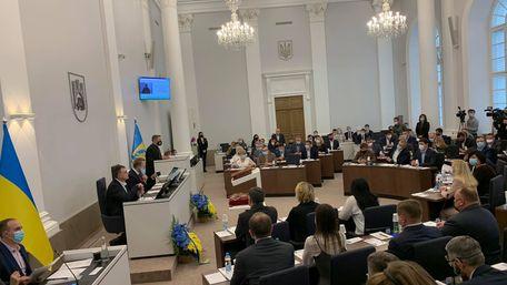 Урочисте засідання Львівської міської ради