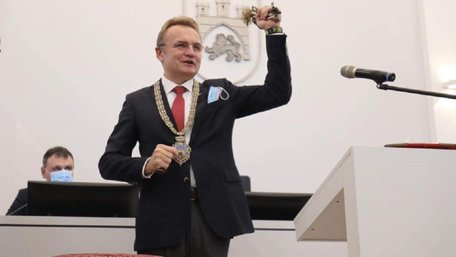 Андрій Садовий склав присягу міського голови Львова