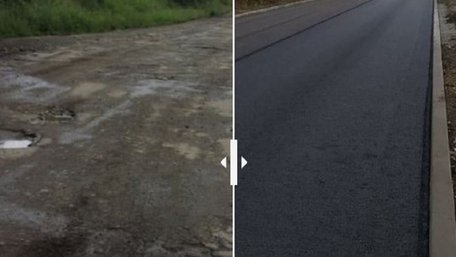 За рік на Львівщині відремонтували майже 300 км доріг