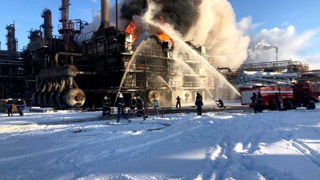 На хімзаводі «Карпатнафтохім» в Калуші сталася пожежа