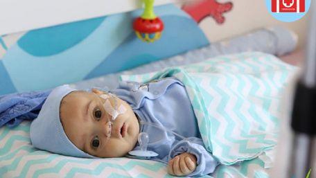 Для порятунку п'ятимісячного Олексійка зібрали перший мільйон грн