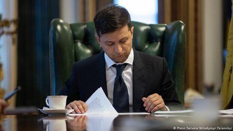 Володимир Зеленський ветував закон про портал для викривачів корупції