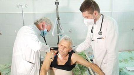 68-річний українець вижив після втрати шести літрів крові