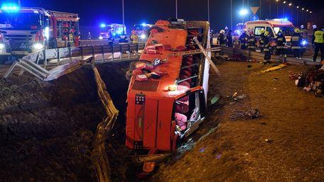 Український автобус потрапив у ДТП в Польщі, шестеро загиблих