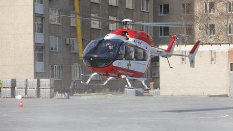 Аеромедична евакуація у Львові: як це працює