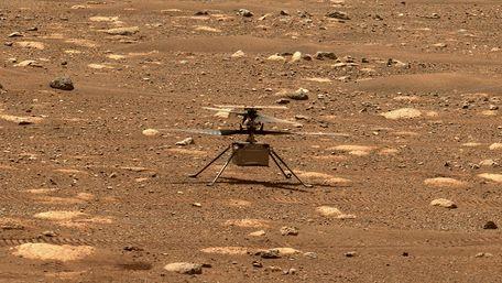 NASA вперше в історії запустила гелікоптер над поверхнею Марса