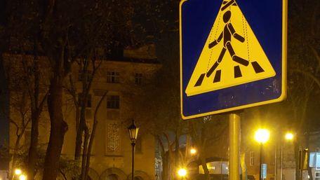 У центрі Львова з'явилися незвичні дорожні знаки