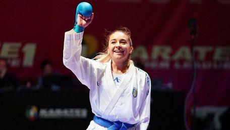 Українська каратистка виборола золоту медаль на турнірі в Португалії
