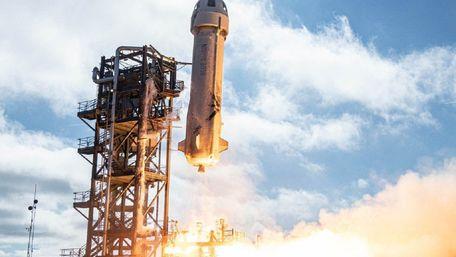 Компанія власника Amazon виставила на аукціон квиток на політ в космос