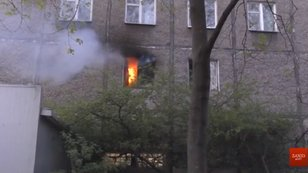 Пожежу в львівській багатоповерхівці міг спричинити вибух електровелосипеда