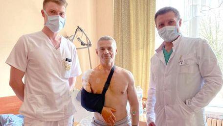 У львівській лікарні успішно прооперували рекордсмена з важкої атлетики