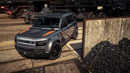 Новенький Land Rover Defender прикрасили іржавими деталями