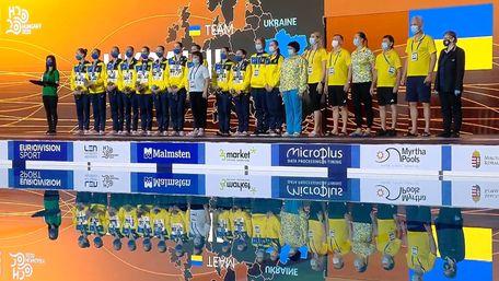 Збірна України перемогла на чемпіонаті Європи із синхронного плавання
