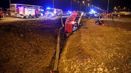 Кількість жертв аварії автобуса Познань – Херсон зросла до семи