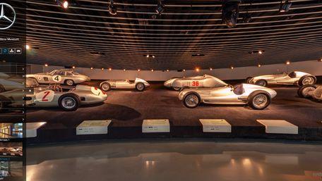 Музей Mercedes-Benz у Штутгарті запрошує на віртуальну екскурсію