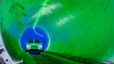 Підземний тунель Ілона Маска розпочав роботу в Лас-Вегасі