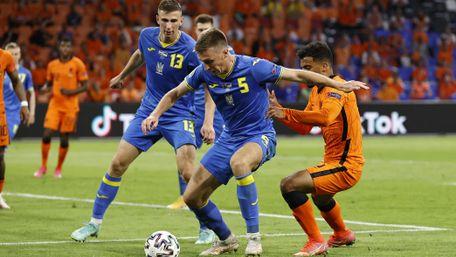 Україна в бойовому матчі поступилася Нідерландам в першій грі на Євро-2020