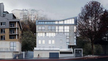 Фасад історичного будинку у Львові інтегрують у нову багатоповерхівку