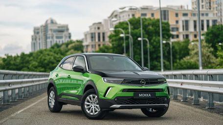 В Україні почали продавати новий Opel Mokka