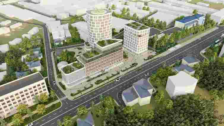 На колишній території мотозаводу планують збудувати офісно-готельний комплекс із житлом