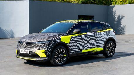 Renault показав передсерійний електричний Mégane