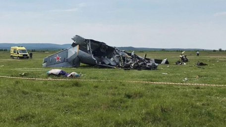 Літак із парашутистами розбився в Росії, є загиблі та поранені