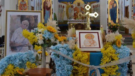 До Львова привезли ікону з мощами святого Івана Павла ІІ