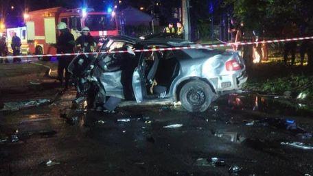 Троє людей загинули в нічній ДТП в Черкасах