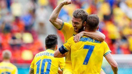 Збірна України вийшла до 1/8 фіналу Євро-2020