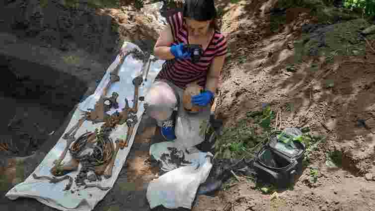 На Тернопільщині знайшли останки бійців УПА, які пролежали в землі понад 75 років