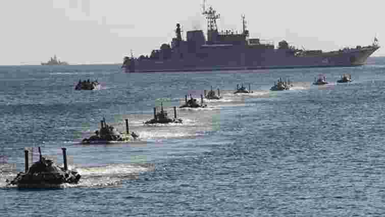Росія вивела в Чорне море всі свої кораблі через Sea Breeze-2021