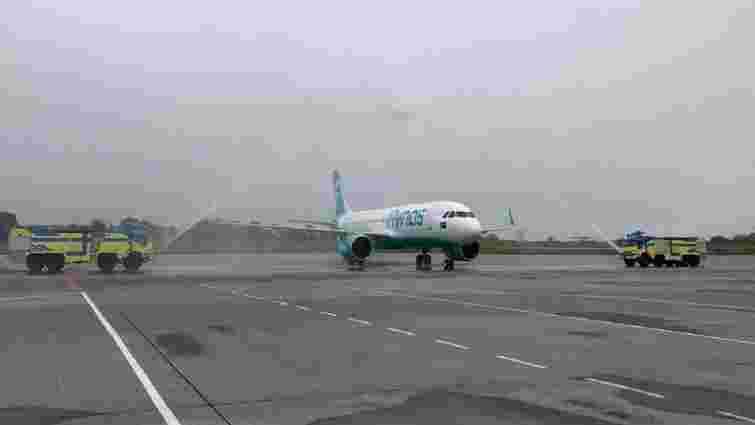 Арабська авіакомпанія виконала перший рейс з Саудівської Аравії до Львова