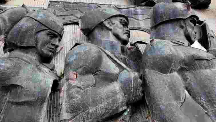 Демонтований у Львові Монумент слави перемістили до музею «Територія терору»