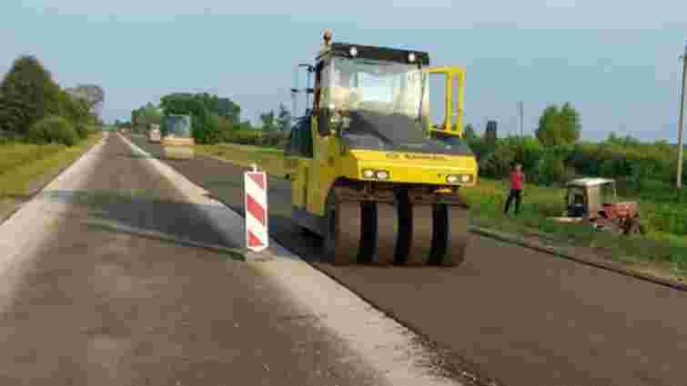 На Волині почали ремонт дороги до кордону з Білоруссю