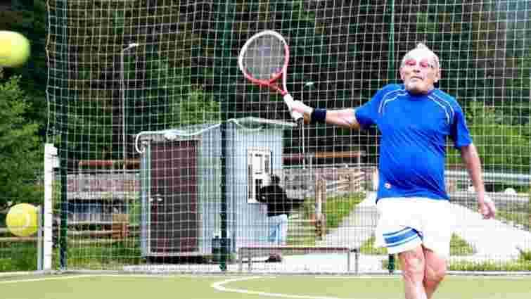 97-річний український тенісист потрапив у Книгу рекордів Гіннеса