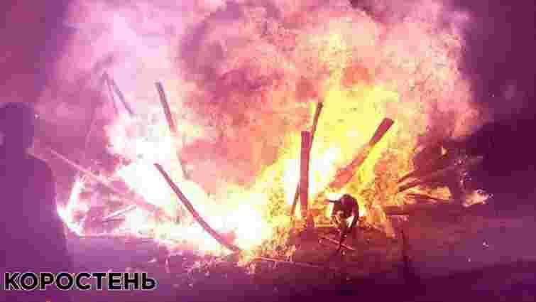 У Коростені під час святкування Купала вибухнули каністри з бензином, є постраждалі