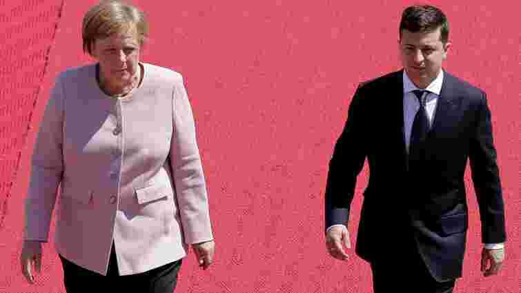 Зеленський не обговорюватиме із Меркель компенсацію Україні за «Північний потік-2»
