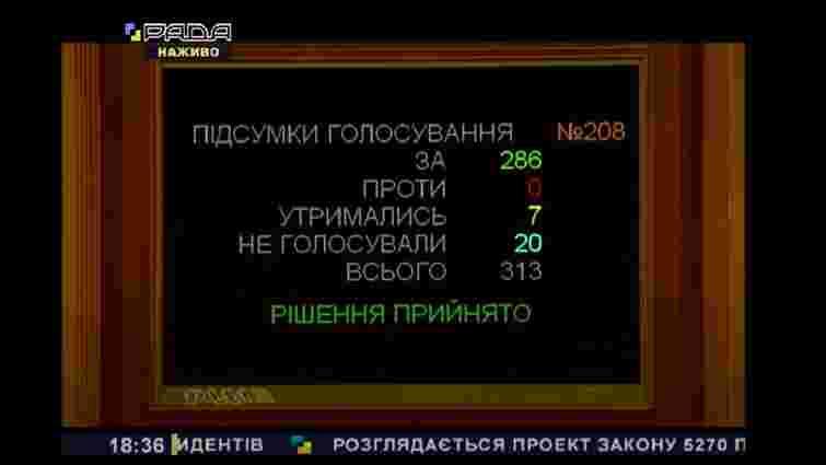 Парламент підтримав за основу законопроект про електронних резидентів