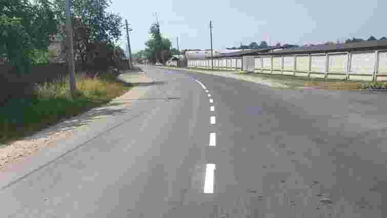 Відкрили для руху відремонтовану об'їзну дорогу навколо Жовкви