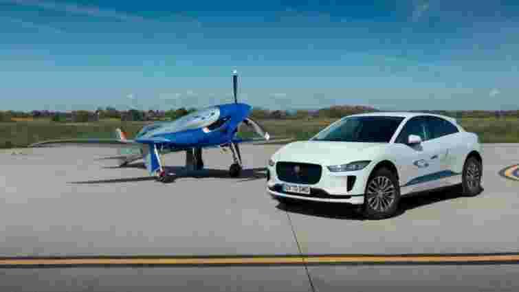 Jaguar I-Pace допоможе електролітаку Rolls-Royce встановити рекорд швидкості