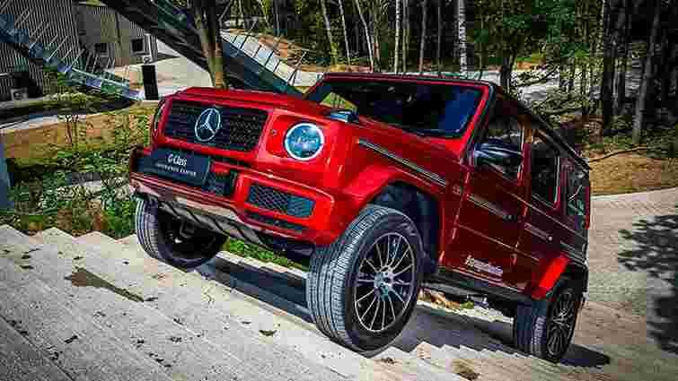 Анонсовано дебют електричного Mercedes-Benz G-Class